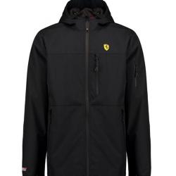 Ferrari Rain Jacket - culoarea neagra